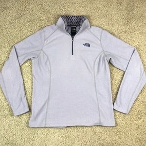The North Face Purple Pullover Sweater Sz Large